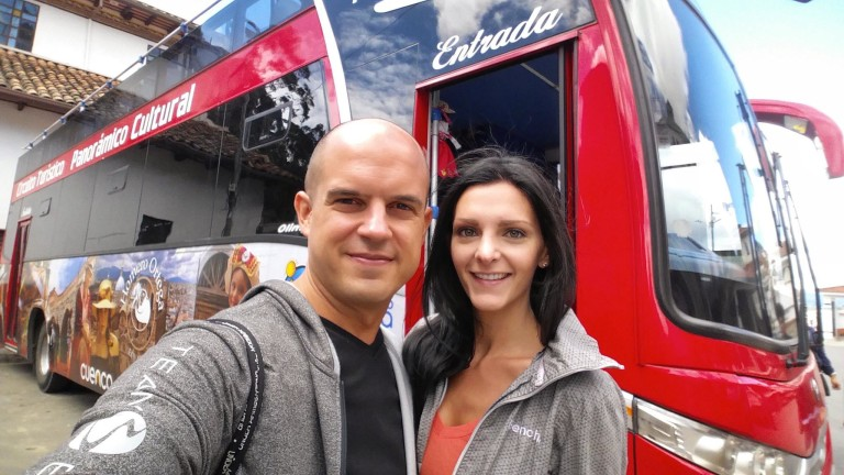 Trevor and Kashlee Travel Cuenca Ecuador