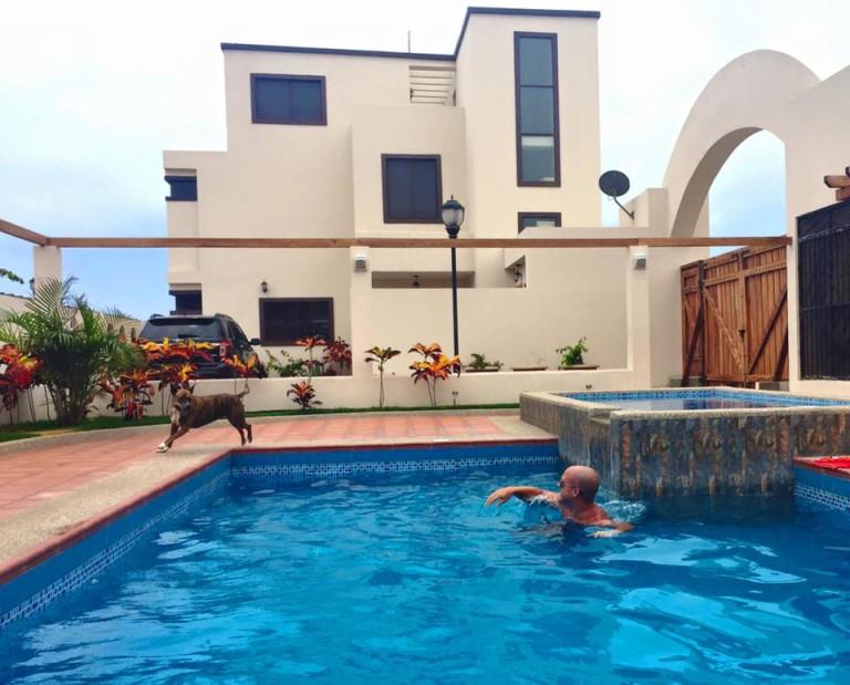 Pool in Ecuador