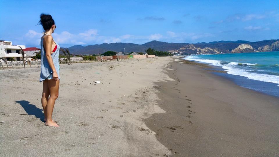 Kashlee Kucheran Beach Ecuador