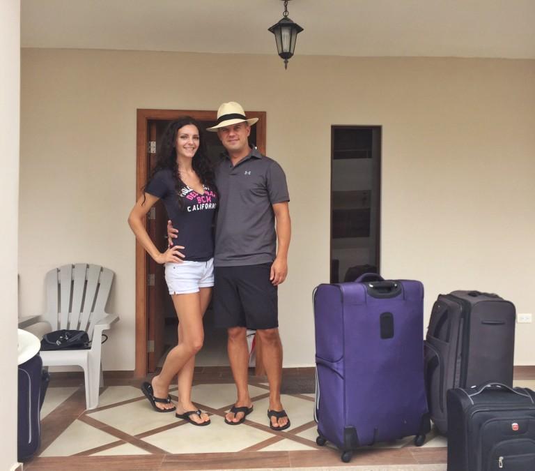 Trevor Kucheran & Kashlee in Puerto Cayo Ecuador