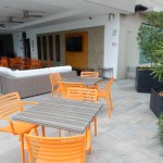 Pool Lounge at the Holiday Inn Guayaquil