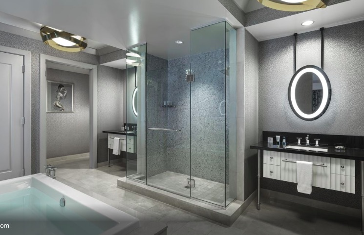 cosmopolitan wraparound terrace fountain view suite renovations 2019