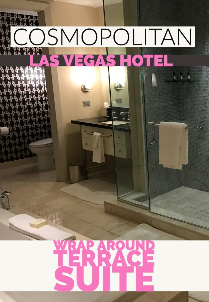 Wrap Around Terrace Suite - Cosmopolitan Las Vegas Hotel Suite