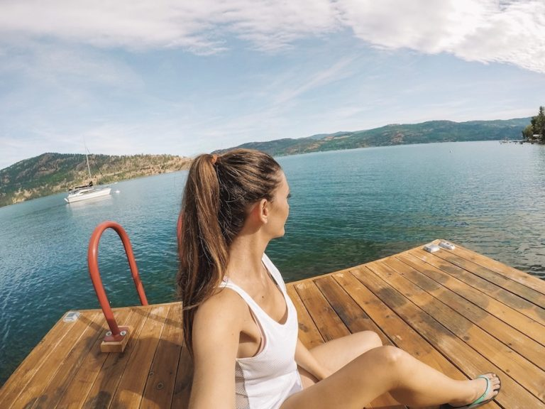 Minimalist Travel Lake Living Kashlee Kucheran