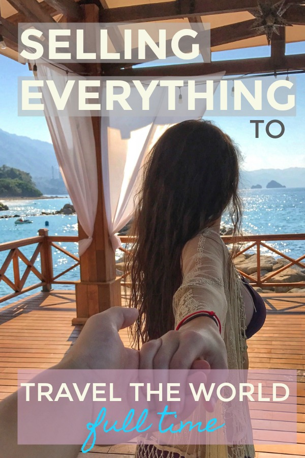 Selling everything to travel the world