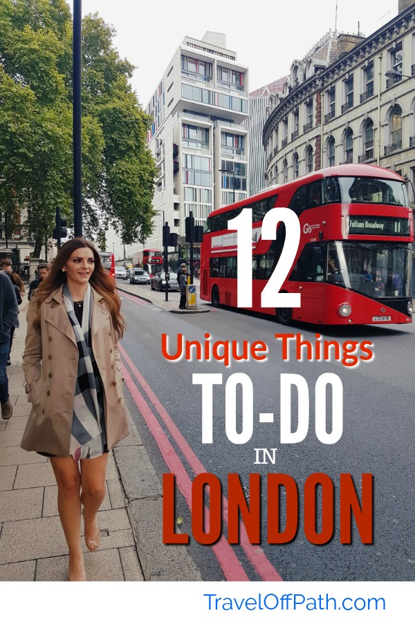 Top 12 Unique things to do in London