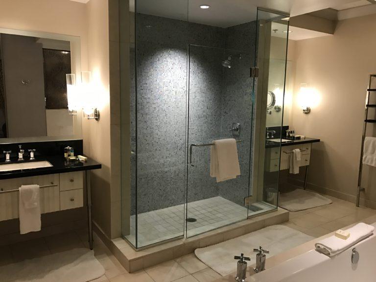 The Cosmopolitan Huge Bathroom Suite Vegas