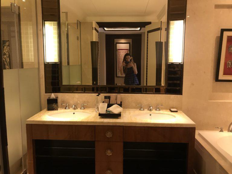 Premier room bathroom Trans hotel seminyak