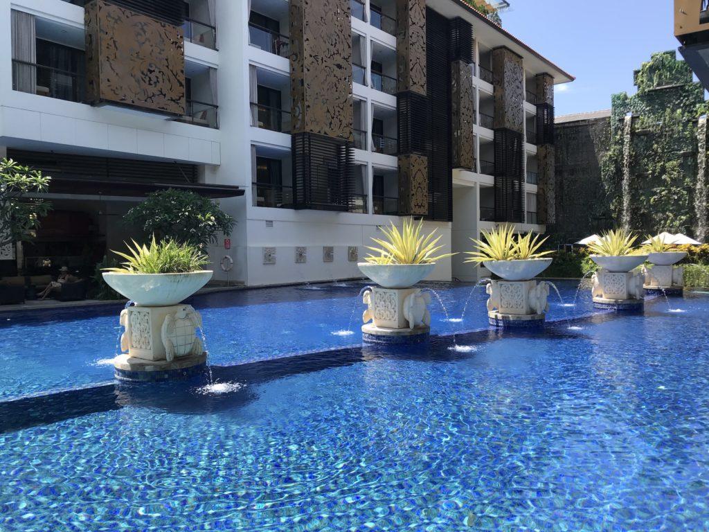 Pool at the Trans Resort Seminyak