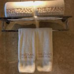 Towels at The Trans hotel Bali