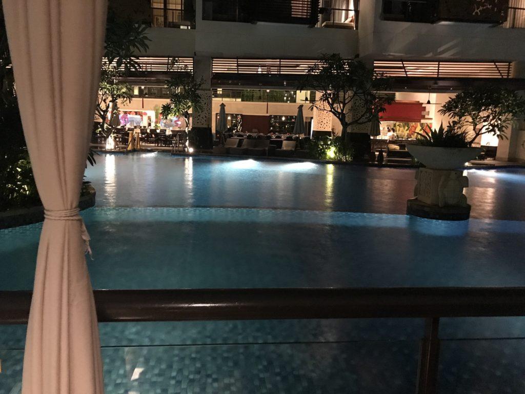 Night View of The Trans Resort Bali