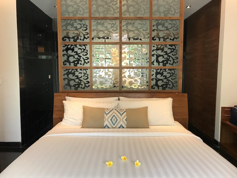 King Bed at Sun Island Seminyak