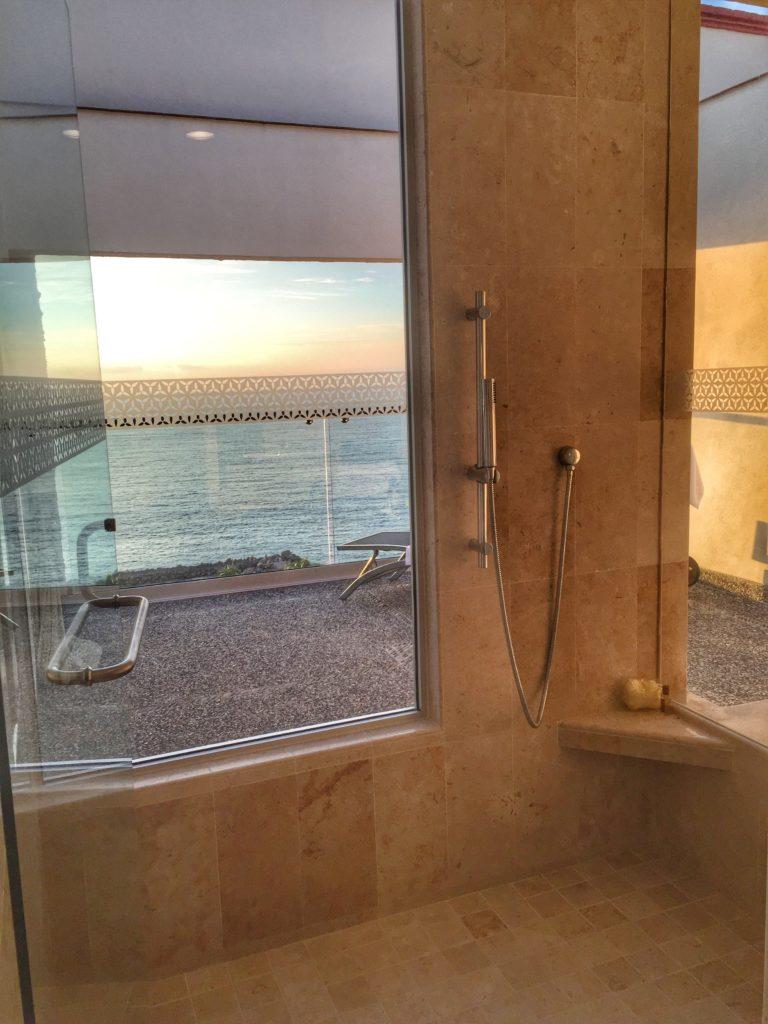 Renovated Shower Sheraton Vallarta