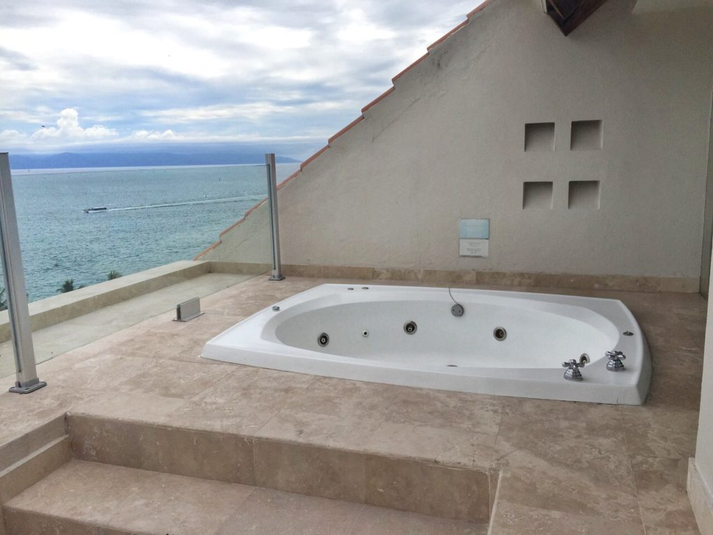 Jacuzzi Westin Junior Suite Puerto Vallarta