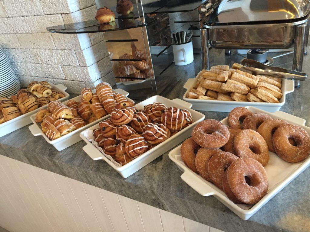 Breakfast Pastries Donuts Resort