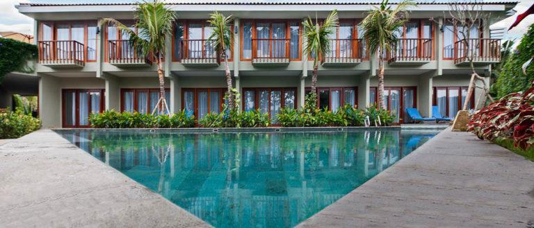 pool at the Ubud wana resort