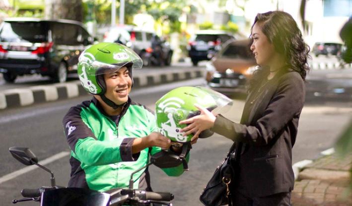 Gojek in Bali ride share service