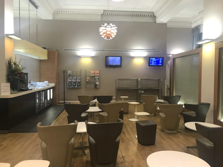 New First Class Lounge at Paddington Station GWR