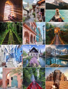 @TravelOffPath Instagram Vacation Ideas