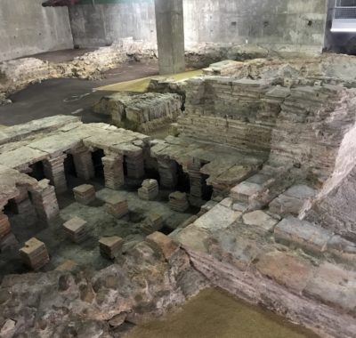 Billingsgate Roman Bath House Ruins London