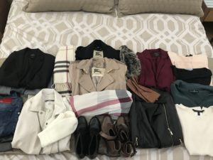 Sending clothes back to DUFL