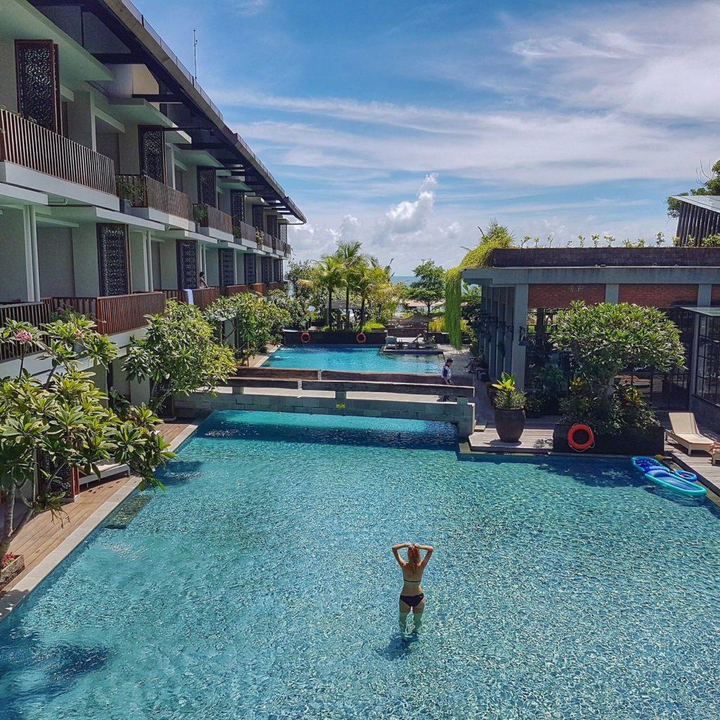 Pool Access haven suites Canggu - Kashlee Kucheran's review of hotel