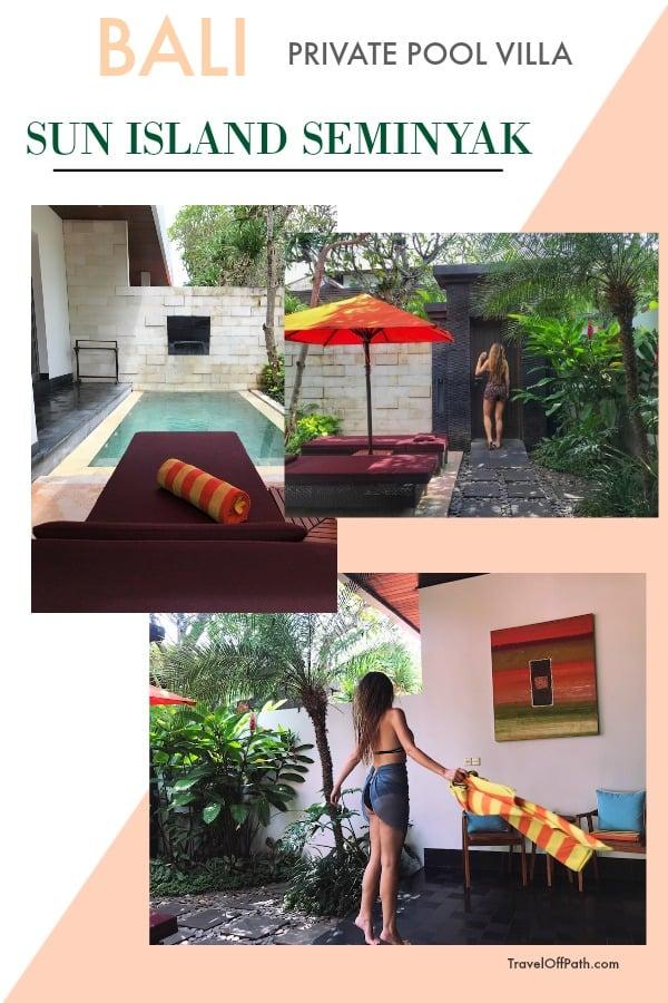 Bali Private Pool Villa in Seminyak
