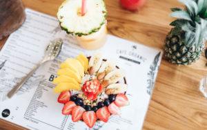 Smoothie bowls in Bali - Cafe Organic