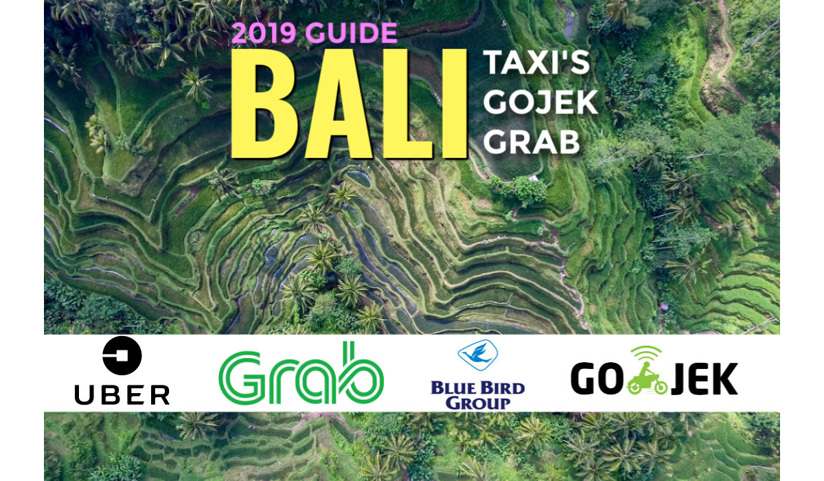 uber and Grab Bali 2019