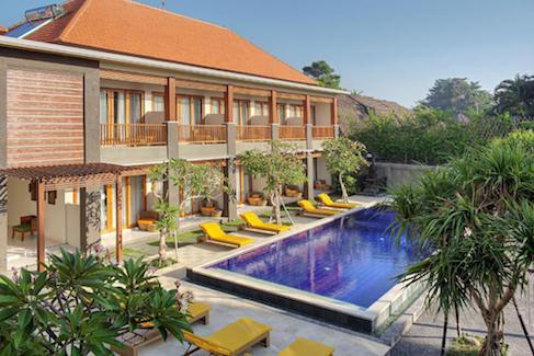 Kubu Cempaka hotel in Bali - Seminyak affordable hotels