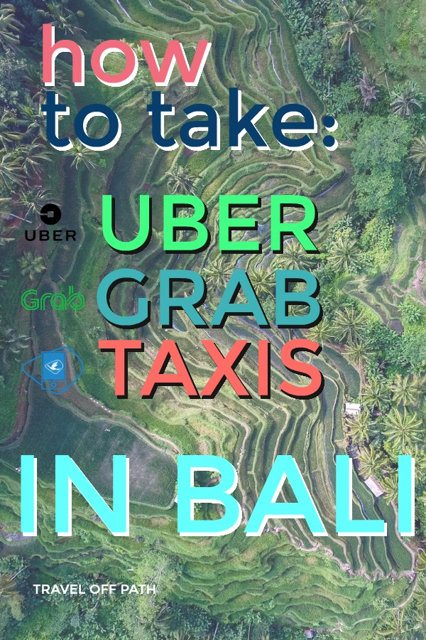 How to use Go-Jek, Uber and Grab in Bali 2018
