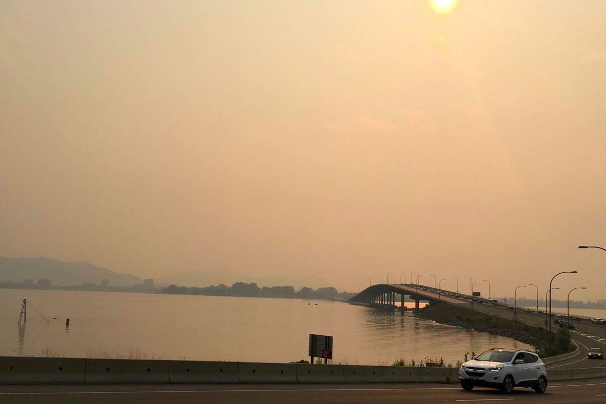460 Fires Burning In B.C. Blanket Western Canada in Smoke