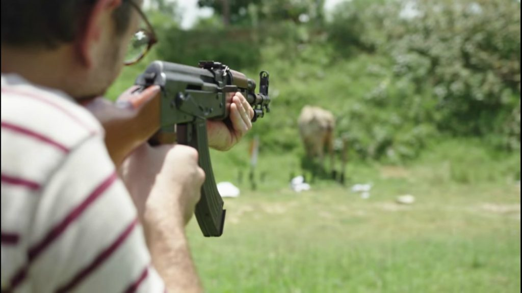 Cambodia Tourists Shoot Cows With Rocket Launchers 2