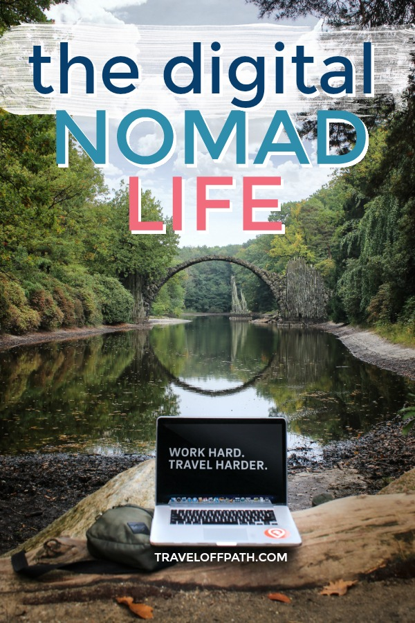 The digital nomad lifestyle