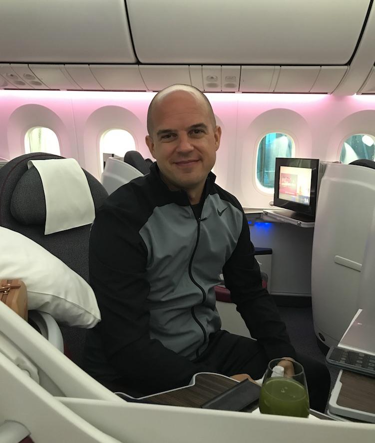 Trevor Kucheran - how i overcame my fear of flying