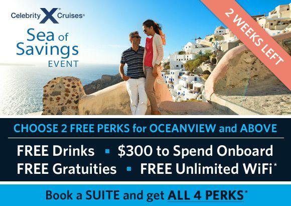 Celebrity free perks promotion
