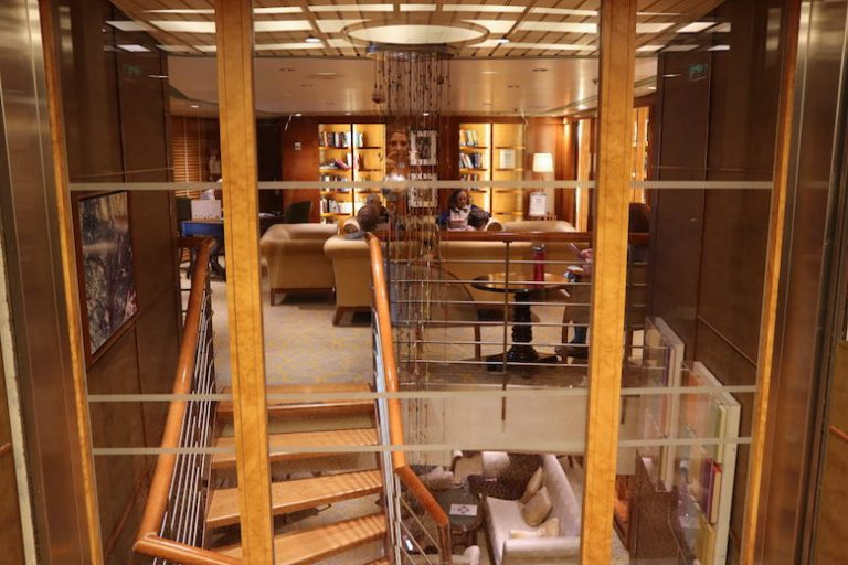 Library on Celebrity Millennium