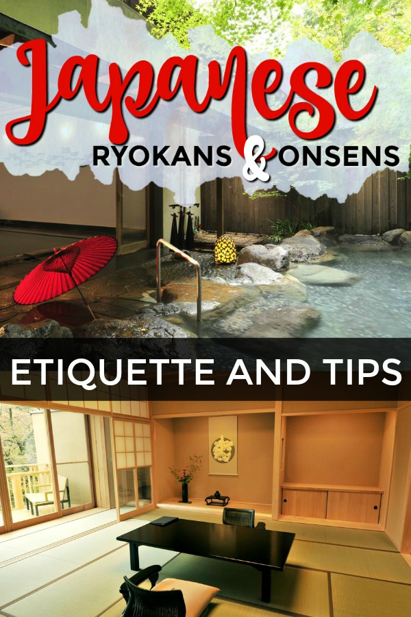 Tips for staying in an onsen ryokan in japan
