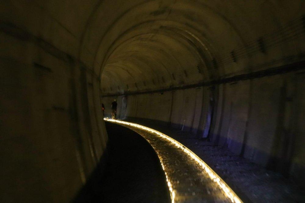 Tunnel on the Gattan Go in Hida