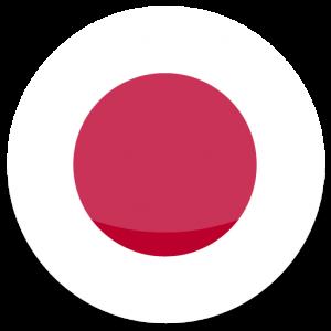 circle flag of japan