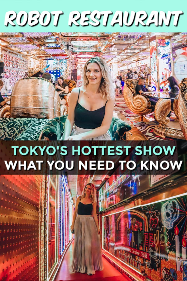 ROBOT RESTAURANT – WHAT YOU NEED TO KNOW ABOUT TOKYO'S HOTTEST SHOW