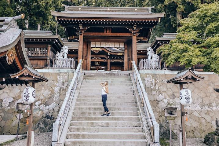 Shrine in Takayama - Kashlee Kucheran