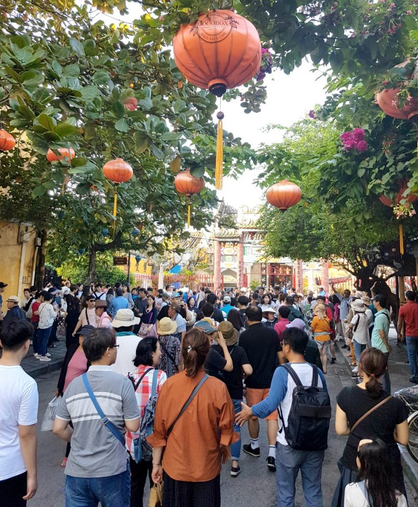Busy Hoi An Ancient Town