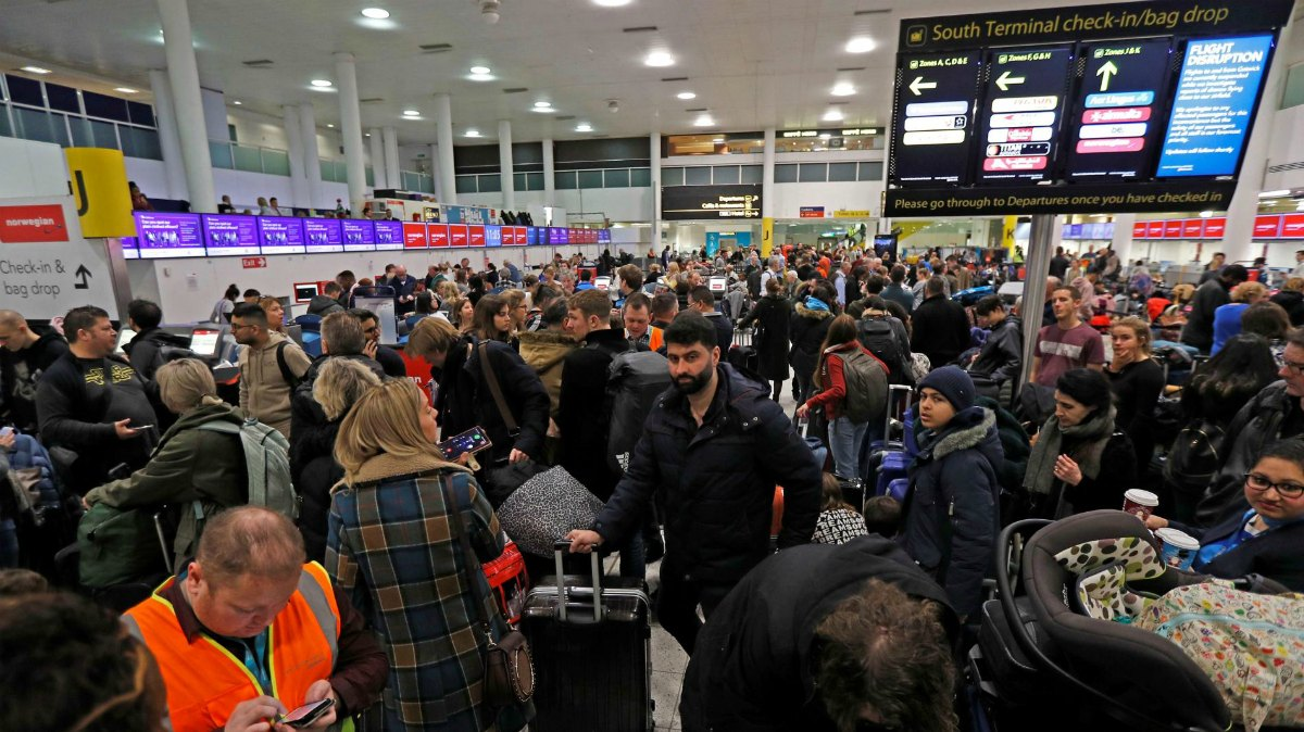 London Gatwick closed due to drone
