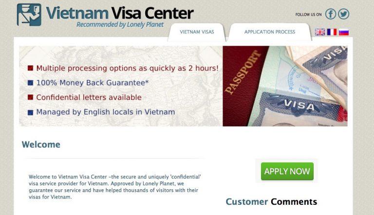 Vietnam Visa Centers Online Agency Review