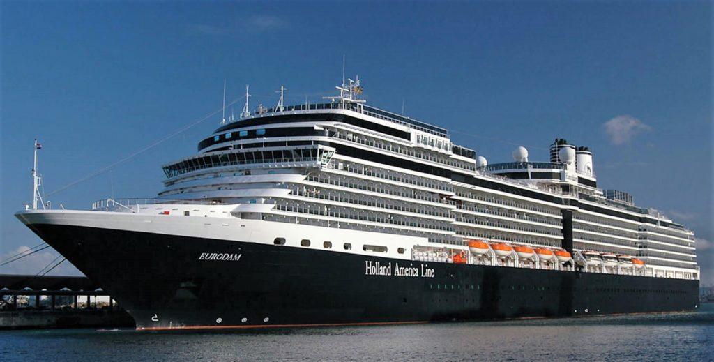 Holland Eurodam From Vancouver to San Diego 11 Night