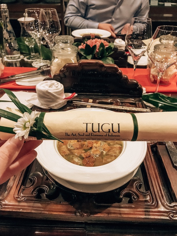 private dinner at tugu malang hotel
