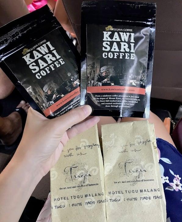Kawi Sari coffee in tugu malang