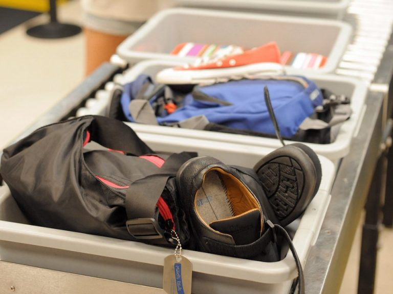 Germ filled bins getting you sick at airport security