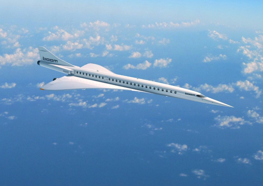 supersonic travel overture boom